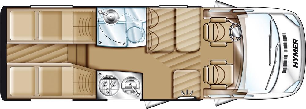 Hymer Van 562   Premium 50   Modell 2013