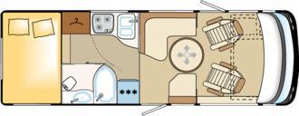 Carthago Chic E-Line I 47 yachting