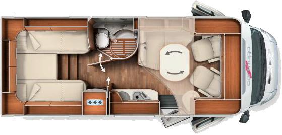 Carthago Chic C-Line T 4.3  Modell 2014