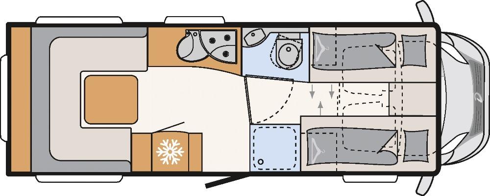 Dethleffs Esprit Comfort A 6820-2